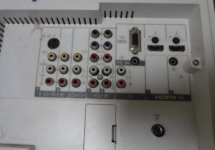 LCD-Sony-Back-input